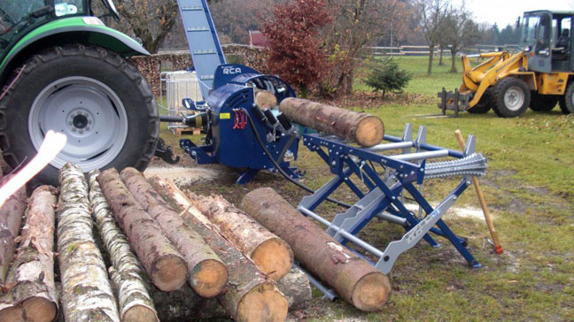 firewood processor for hire 1