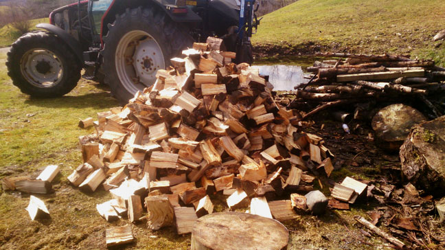 Firewood in Inverness